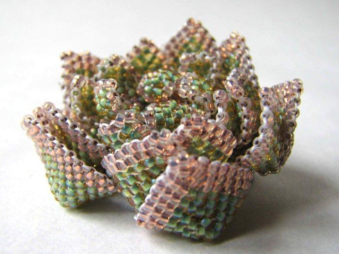 Succulent brooch