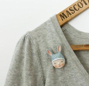 grey bunny girl