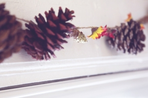 Fall-pinecone-garland