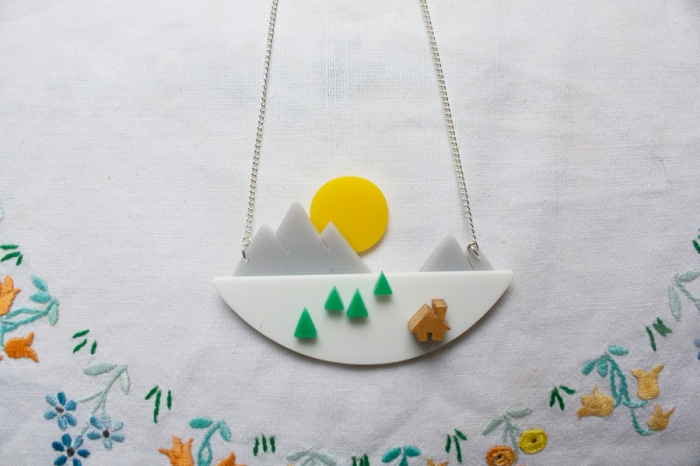 mountain_sunset_necklace_I_am_acrylic_